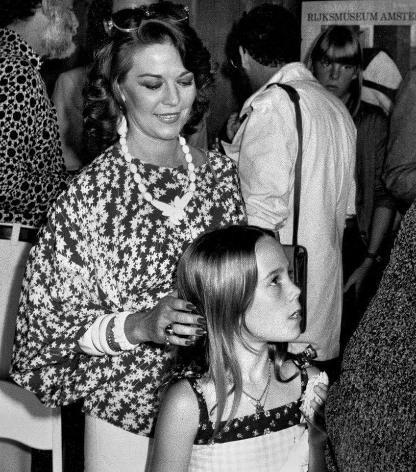 "This picture by Ron Galella captured a candid look of love from a mother for her daughter.  Now Natasha tells the world of the precious love she shared with her mother Natalie Wood. . Use the clickable link in the profile section of this page to order Natasha's book ""More Than Love: An Intimate Portrait Of My Mother, Natalie Wood"". . Natasha's book is available in print, ebook and audiobook (read to you by Natasha) formats."