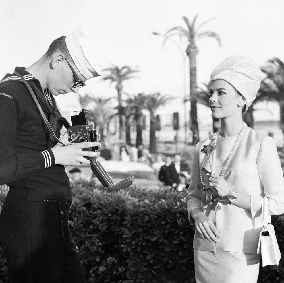 This picture shows Natalie posing for an American sailor in Cannes (1962). Imagine how wonderful it must have been for a US serviceman overseas to see Natalie - A beautiful symbol of home right in front of him! Today we honor our veterans who lost their lives while in service to our country both at home and abroad